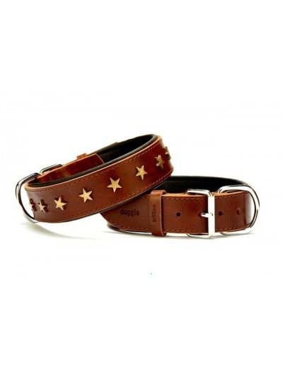 Collier pour chien étoile luxe